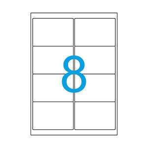 50-A4-Klebepapier-Etiketten-99-1x67-7-mm-weiss-400-Aufkleber-99-x-67-Luma