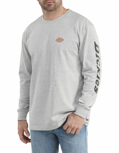 DICKIES MENS RELAXED FIT LONG SLEEVE GRAPHIC TEE WL469