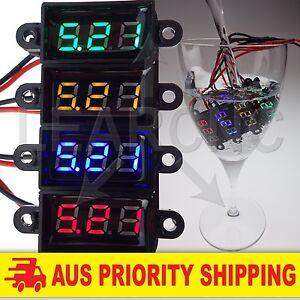 Mini-LED-Voltmeter-DC3-5-30V-Volt-Meter-Voltage-Display-Digital-Waterproof