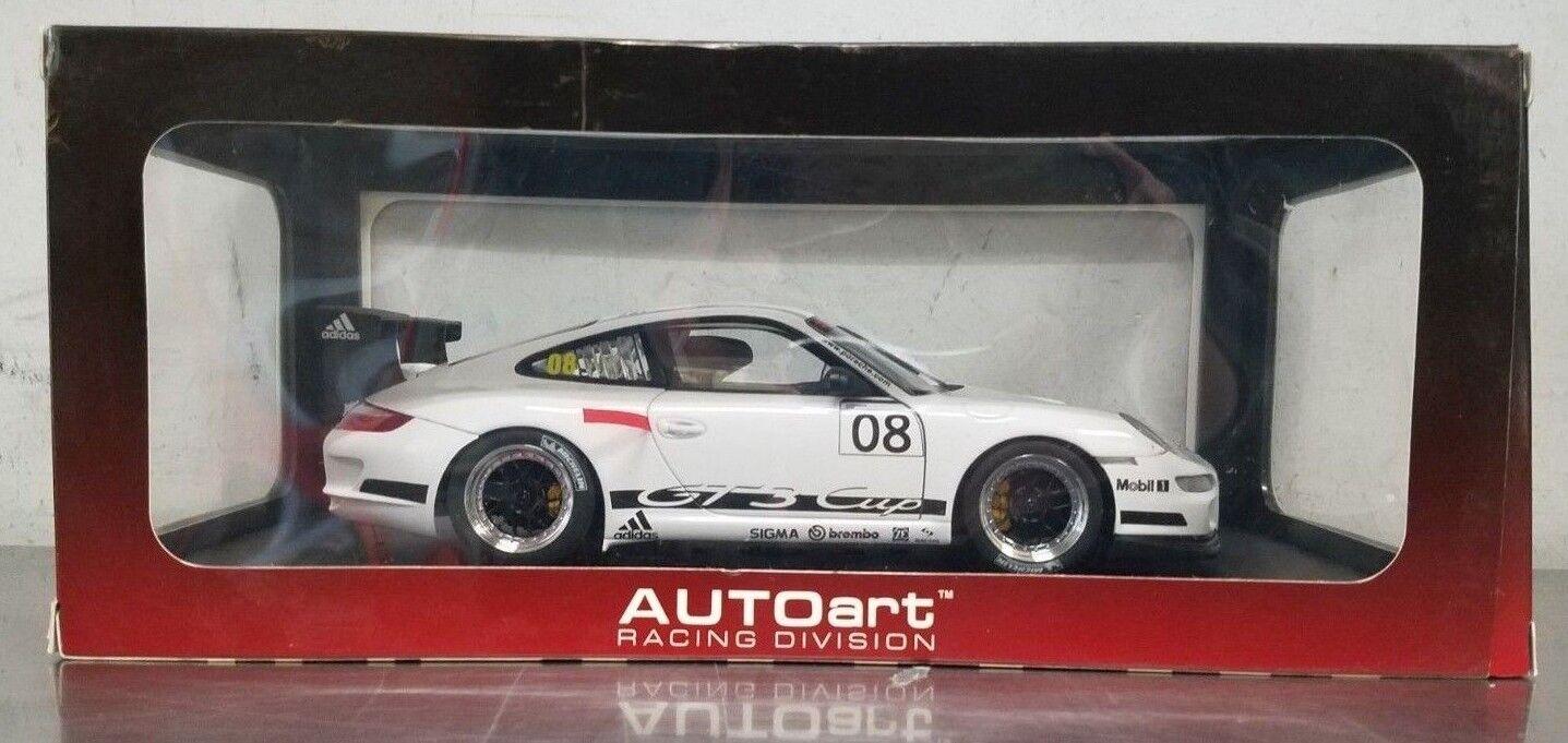 AUTOART Racing Division 1/18 Model Car Porsche 911 997 GT3 Promo Cup 80881 NEW