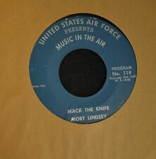 Mort Lindsey Barbara Russell United States Air Force 119 Mack The Knife