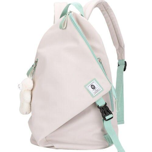 Women Backpack Soft Cotton Girls Teenagers Fashion Bag School Travel Shoulder