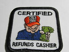 home depot collectibles  cashier certified patch