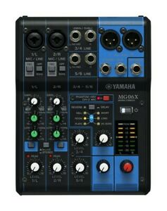 Yamaha-MG06X-6-Channel-Mixer-with-SPX-Effects-Used