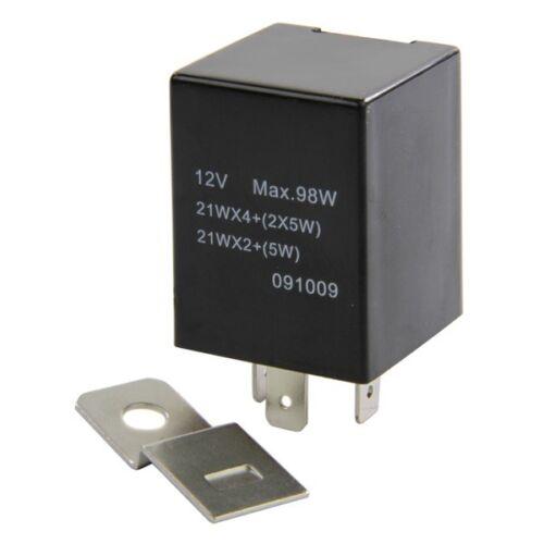 Intermotor 58972 Turn Signal Indicator Flasher Relay Switch Unit 12V Electrical