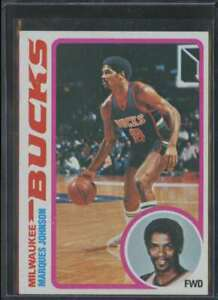 1978-79 TOPPS ROOKIE MARQUES JOHNSON RC #126
