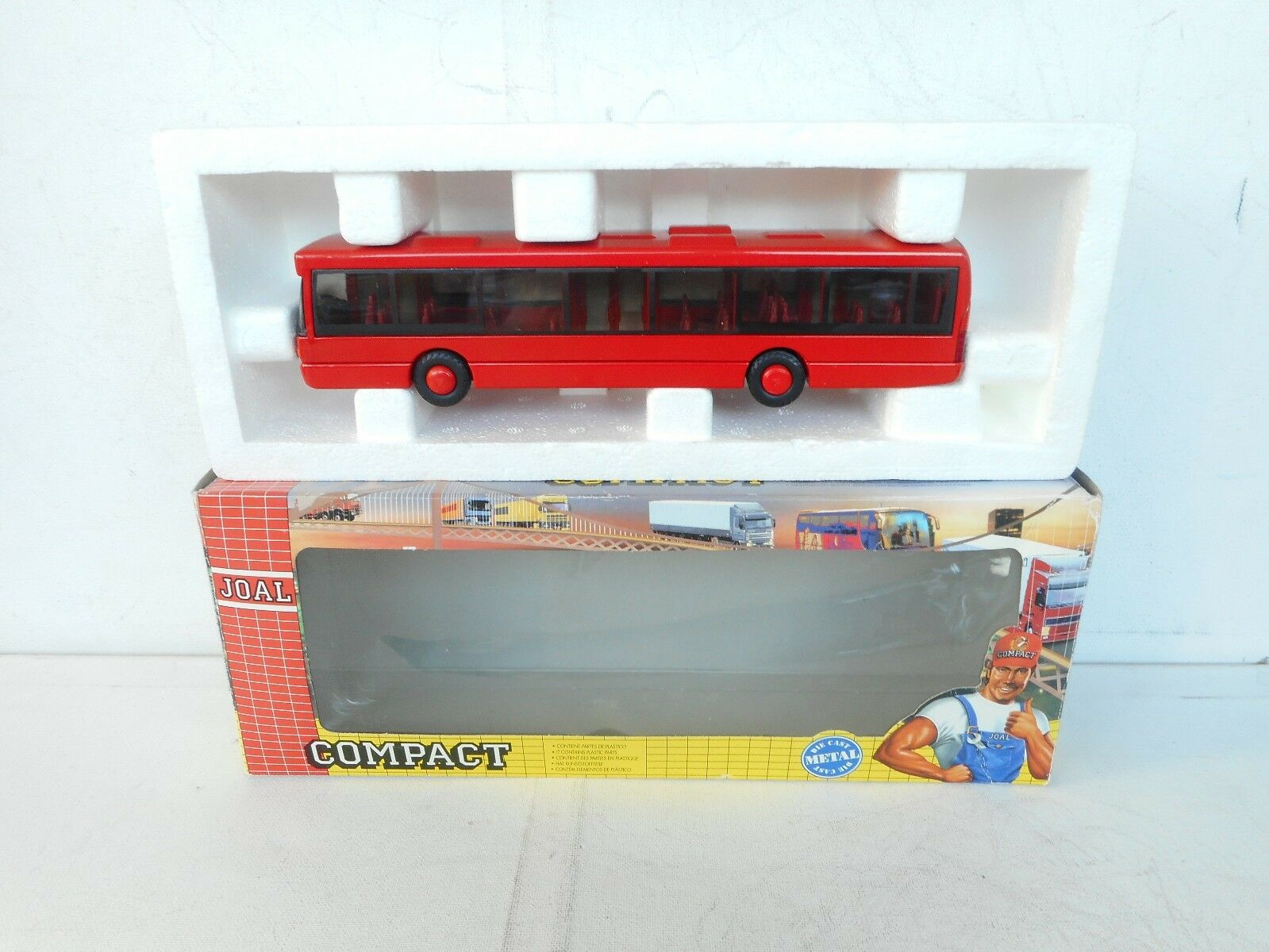 JOAL Compact Ref 155 SCANIA OMNICITY Autobus  RED LINE  NM  Boxed 1 50
