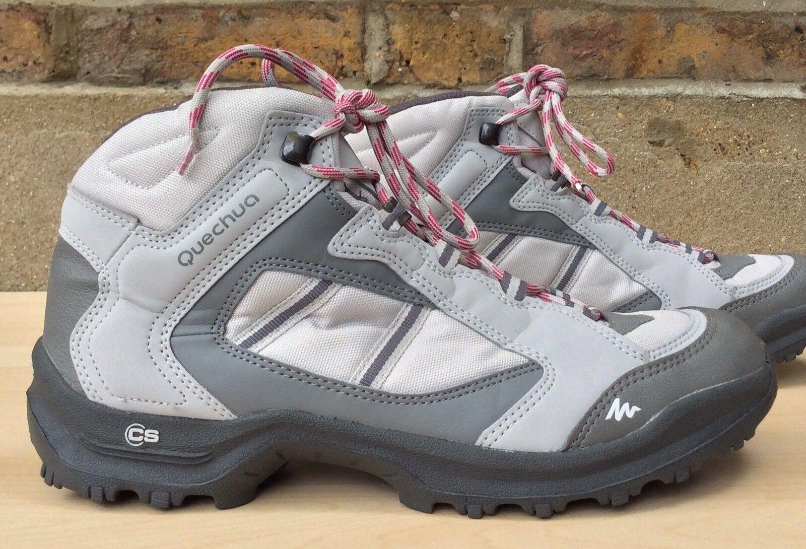 Quechua Forclaz 50L Lunar Grey Mens Hicking Walking Boots UK 7 EU 41