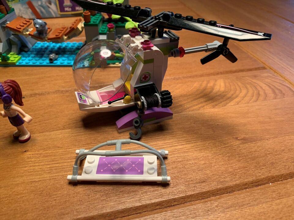 Lego Friends, 41036 Jungle Bridge Rescue
