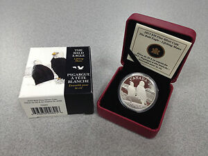 2013-Royal-Canadian-Mint-20-Fine-Silver-Coin-The-Bald-Eagle-Lifelong-Mates
