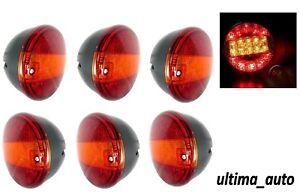 6-x-12V-Post-20-LED-Luci-Stop-Coda-Freccia-3-Funzione-Trattori-Camion-Rimorchio