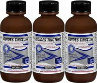 Humco Iodides Tincture (decolorized Iodine) 2 Oz - 3 Bottles