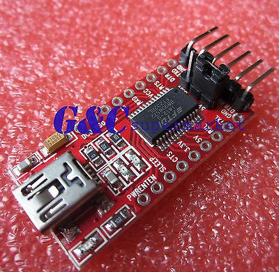 2PCS FT232RL Serial adapter Module USB to TTL 3.3V/5V Mini USB  TTL M20
