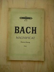 Noten-J-S-Bach-Magnificat-Klavierauszug