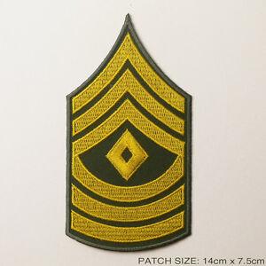 U.S Militaria ARMY FIRST SERGEANT CHEVRONS