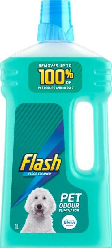 1l Flash Floor Cleaner Liquid Pet Odour