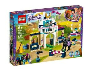 LEGO-41367-Friends-Stephanie-039-s-Horse-Jumping-BRAND-NEW-SEALED