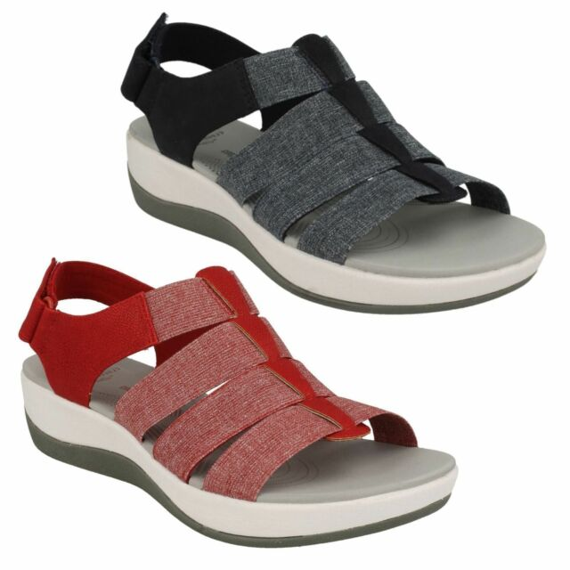 e7cb027853a CLARKS Cloudsteppers Casual NEW Comfort Sport Sandals Shoes Sz 7.5 ARLA  SHAYLIE