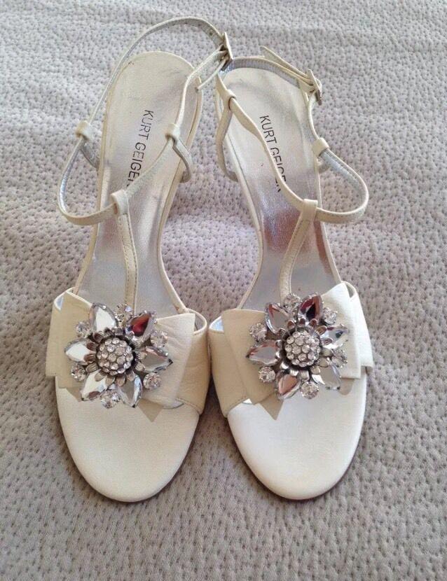 Lady Kurt GEIGER LIMITED EDITON Schuhes Leder Sandales Schuhes EDITON UK 5.5 EU 38.5 NEW ddd5fd