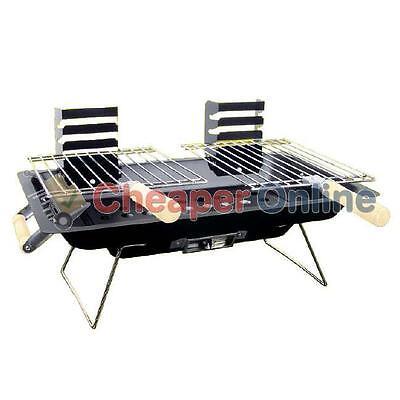 Portable Steel Hibachi Barbecue / BBQ Camping Grill