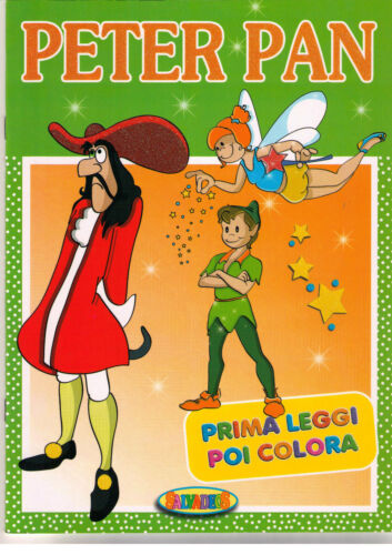 Peter Pan. Fiabe meravigliose - Salvadeos - Libro nuovo in offerta!