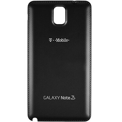 Samsung Galaxy Note 3 T-Mobile N900T Back Cover Battery Door Black Replacement