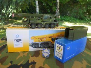 Liebherr Ltm 1070/4 Militaire Container 20 Pieds Logo Conrad Offert