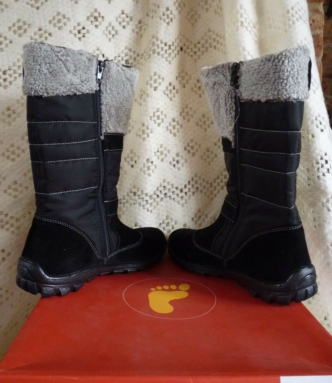 Ladies Ricosta Snow   Winter Boots Halka Style  Size