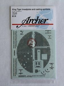 Archer-1-16-King-Tiger-Treadplate-and-Casting-Marks-for-Trumpeter-AR88027