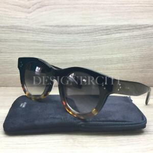 4c7524d541 Celine CL 41440 F S 41440 Sunglasses Black Tortoise FU5 W2 Authentic ...
