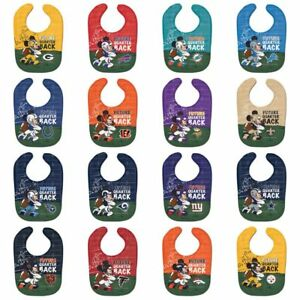 1eac9fda Details about NFL Disney All Pro Baby Bib - PICK YOUR TEAM - FREE SHIPPING