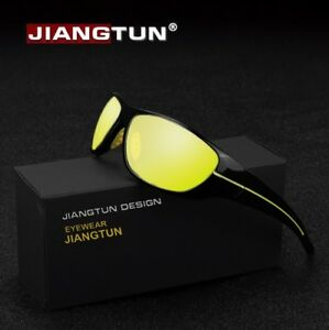 Gafas-de-Sol-Polarizadas-Vision-Nocturna-Conduccion-Noche-Dia-lluvioso-Niebla