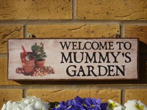 Personnalisé de jardin signe serre signe graines jardin pots jardin présente des signes