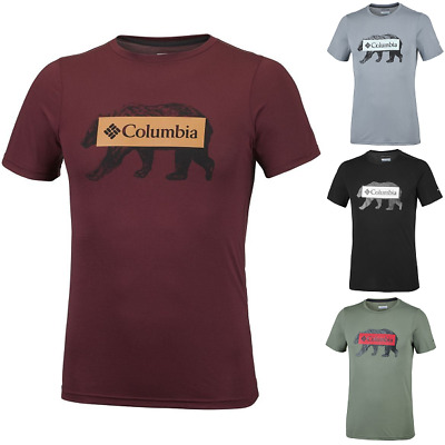 COLUMBIA Onchan Park ES0733316 Cotton T-Shirt Short Sleeve Tee Mens All Size New