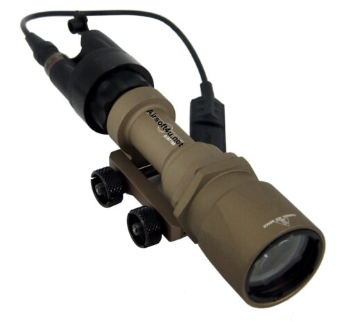 Tactical SF M951 Style High power 180 Lumen Flashlight In Tan