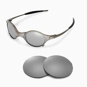 9868de870e Image is loading New-Walleva-Polarized-Titanium-Replacement-Lenses-For- Oakley-