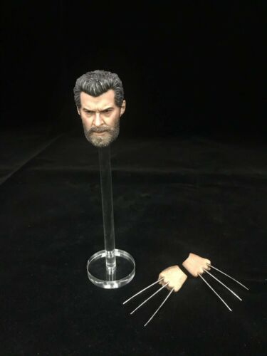 Burning Soul 1//6 Logan Hugh Wolverine neckless head sculpt with claws in stock