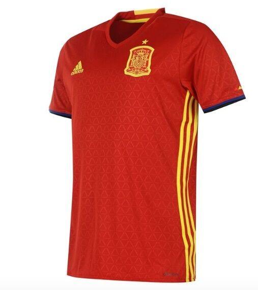 Adidas Heim Trikot Spanien Spain red yellow alle Größen Neu mit Etikett