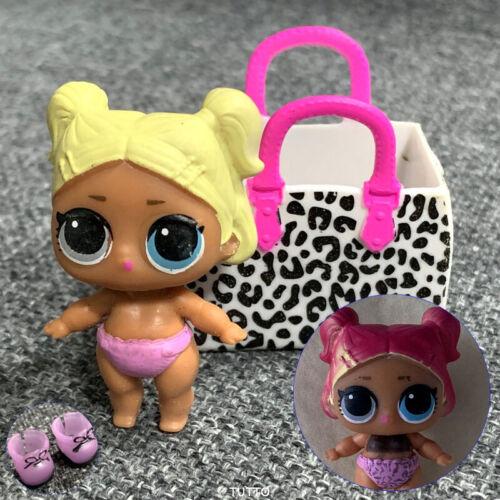 COLOR CHANGE LOL Surprise dolls Lil Sisters eye spy LIL SCRIBBLES & BAG SHOES