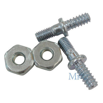 2Pairs Bar Studs /& Nuts For STIHL 017 018 MS170 MS180 Chainsaws Part