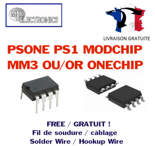 Psx , PS1, Psone Chip Onechip MM3 PLAYSTATION Pal Psone