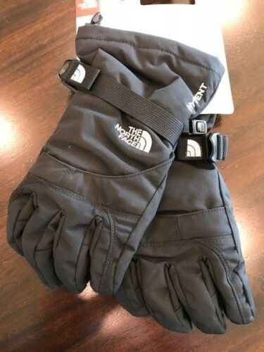 New North Face Girls Youth Montana Ski//Snow Gloves-TNF Black NWT