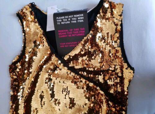con perline 6 e inconfondibile in oro Abito inglese misura glitter gpqBUEfw