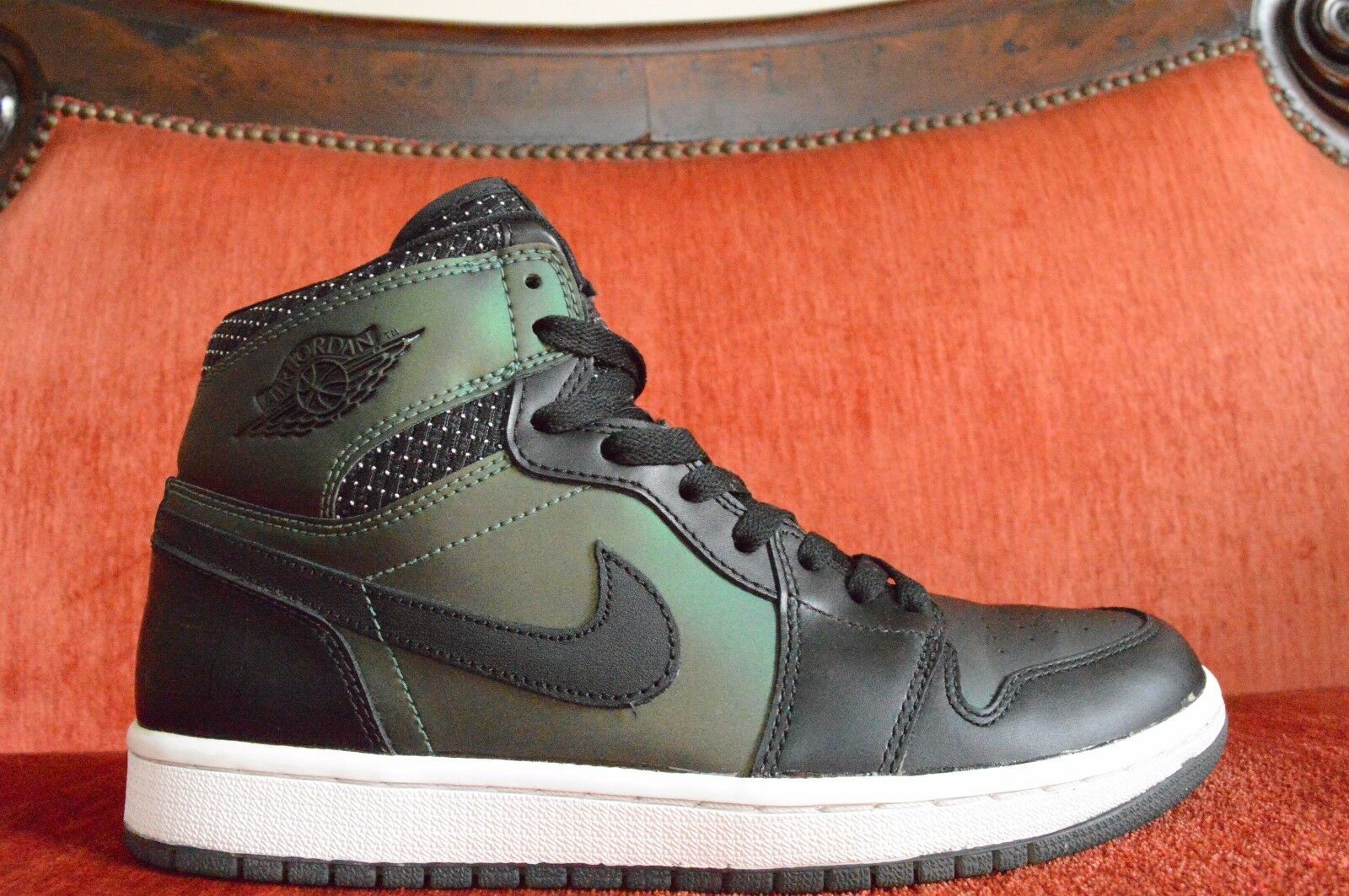 VNDS Nike Air Jordan 1 Retro High SB Green Craig Stecyk 653532 001 Size 8