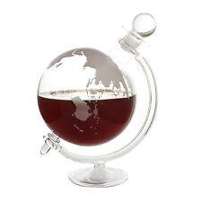 Vintage Glass GLOBE DECANTER Vodka Whisky Scotch Tequila Drinks Cabinet 750ml UK