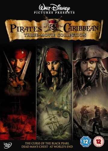 1 of 1 - Pirates Of The Caribbean Trilogy [DVD] - DVD  J2VG The Cheap Fast Free Post