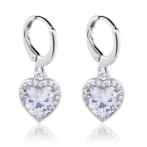 Real-White-Gold-Filled-Cubic-Zircon-Drop-Earrings-For-Women-Party-Show
