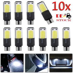 10x-T10-COB-LED-Licht-Auto-Standlicht-Innenraum-Beleuchtung-Kennzeichen-Lampe