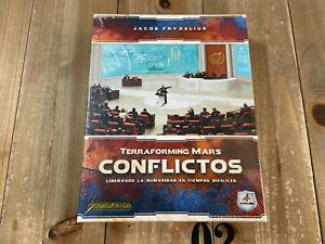 juego de mesa - CONFLICTOS - TERRAFORMING MARS - Maldito Games - Precintado
