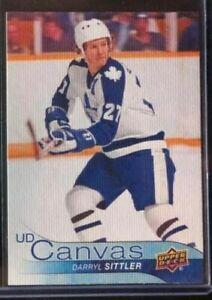 2016-17-Upper-Deck-Young-Guns-Canvas-SP-Darryl-Sittler-Toronto-Maple-Leafs
